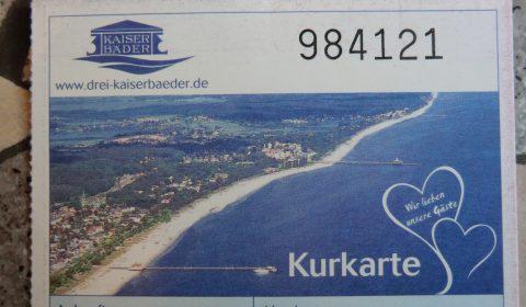 Kurtaxe Kurabgabe Heringsdord Insel Usedom
