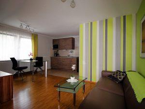 Ferienwohnung 40 Wohnzimmer